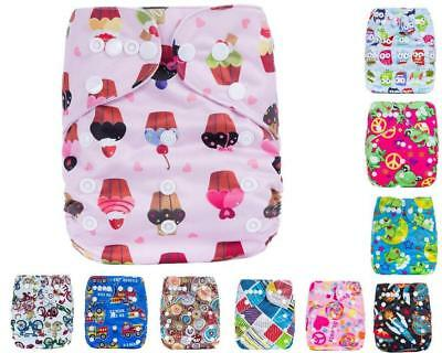 For Newborn Infant Reusable Washable Baby Cloth Diapers Nappy Cover Adjustable
