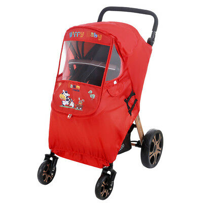 Universal Baby Stroller Rain Cover Windshield Baby Carriage Windproof Raincoat