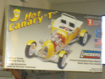 LINDBERG HOT CANARY ''T'' FACTORY/SEALED 1/8 scale 10 lbs 32 ins.x29insx6.5ins