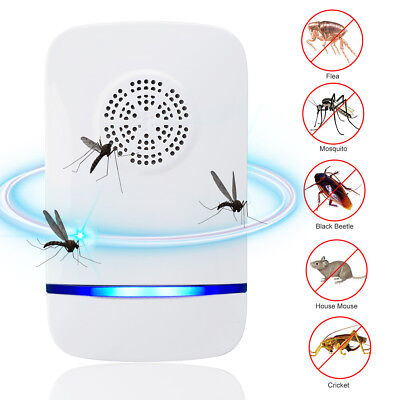 Electronic Ultrasonic Pest Repeller Mosquito Mouse Rat Insect Rodent Control