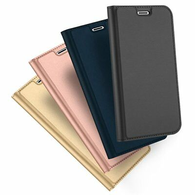 New Magnetic Flip Leather Wallet Case Card Slot Cover For iPhone X XS Max XR TU