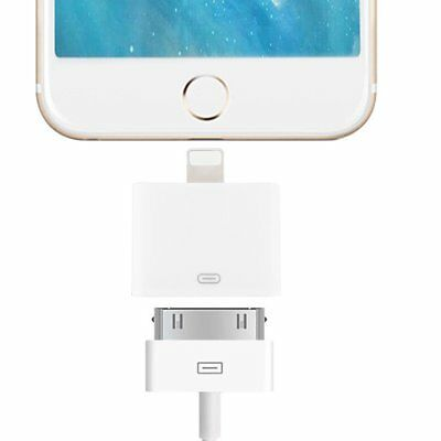 Lightning 30 Pin Female to 8Pin Male Adapter For Apple iPod Touch 5 Nano 7 TU