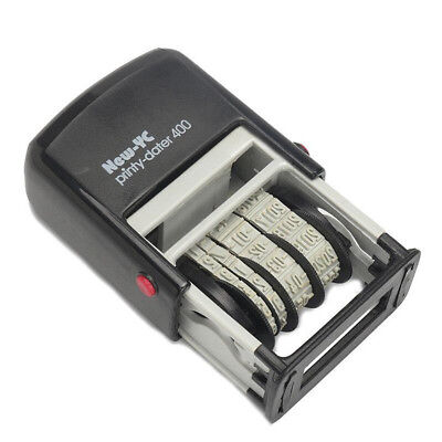 1PC Mini Date Stamp Self-Inking Rubber Stamp Stationery Business Office Supplies