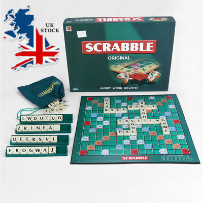 Xmas Original Scrabble Board Game Family Kids Adult Educational Toys Puzzle Game