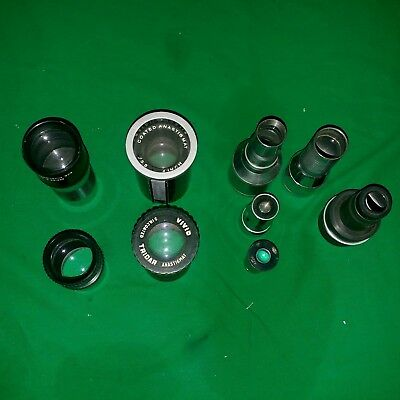 Camera Projection Lenses as-is mixed Lot of 9