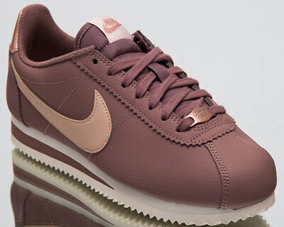 info for 949f7 2dcb2 NIKE WOMEN'S CLASSIC Cortez Leather Lifestyle Shoes 2018 Smokey Mauve  AV4618-200