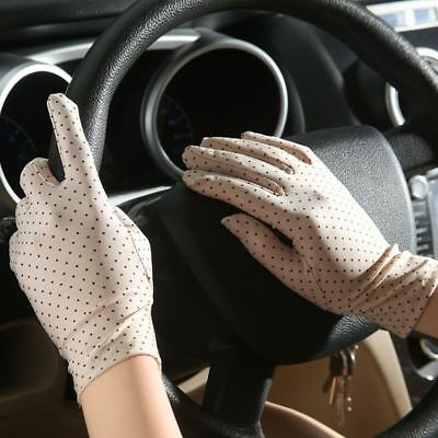 Protective Gloves Sun Anti UV Summer Driving Lace Thin Touch Screen Women 1 Pair