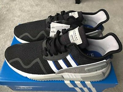 best service 66b70 0fcab Adidas EQT Cushion ADV Originals Size 9 UK Trainers Mens Black Blue White
