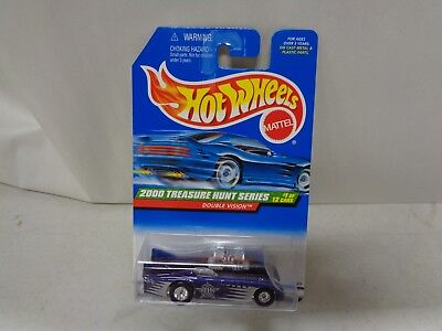 Hot Wheels 2000 Treasure Hunt Series Double Vision