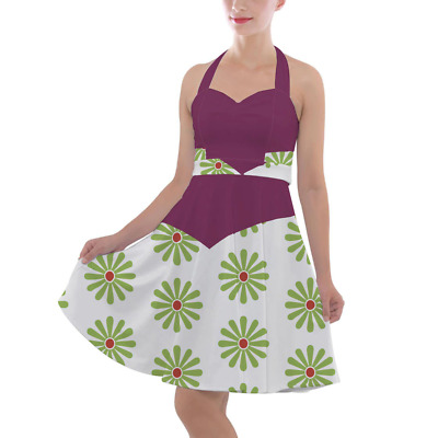 Haunted Mansion Tightrope Walker Halter Vintage Style Dress
