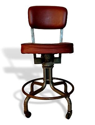chair stool industrial original the office specialty mfg company 50 years