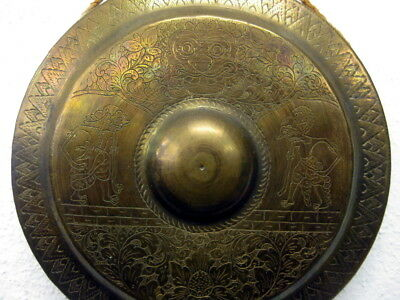 Gong, Messing, Indien