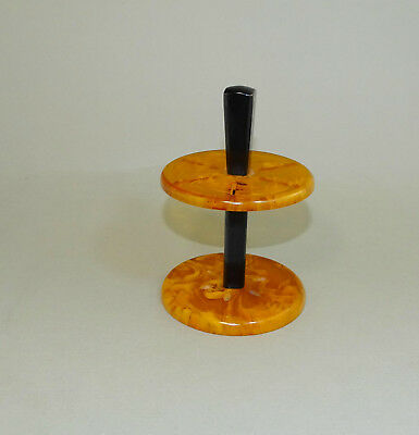 Vintage Bakelite Catalin Table Knife Holder Stand Rack - Positive Test