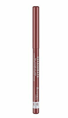 Rimmel London Exaggerate Automatic Lip Liner, 018 Addiction, 1.2 G .