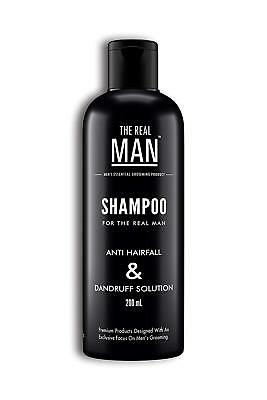 Real MAN Anti-Hair Fall & Dandruff shampoo 100% Organic hair fall solution