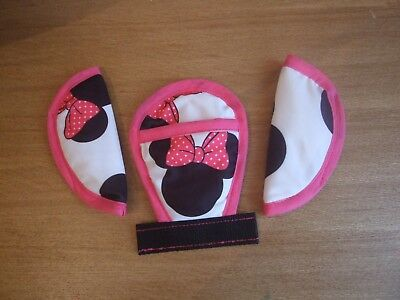 Maxi-Cosi Cabriofix Chest/shoulder/Crotch Pads minnie mouse