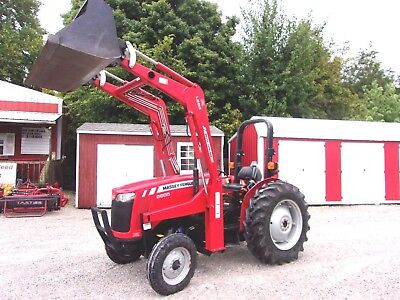 MF 2605 Tractor with L200 Loader-38 HP-Low Hrs-Delivery @ $1.85 per loaded mile.