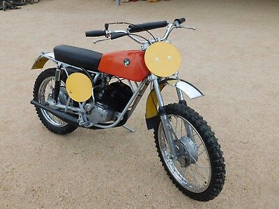 '72 PUCH 125MX Vintage MX MotoCross WOW Check This OUT Restored ORIGINAL NICE!