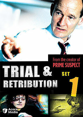 TRIAL & RETRIBUTION, SET 1 DVD, Martin Heathcote, Sarah Ozeke, George Pensotti,