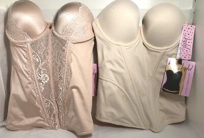 a6847fcc619 Jezebel Caress Too Strapless Bustier 30533 OR Caress Bustier 32533 (34B)