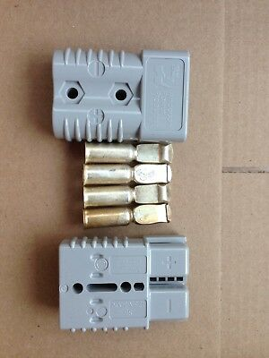 Anderson Power Products SB175 Grey 2 Connector Set With 4 Tips