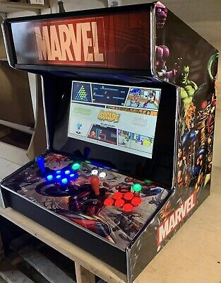 Marvel Half Size Bartop Arcade Machine With LED buttons