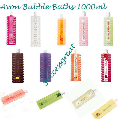 Avon 1000Ml Bubble Bath~Various Fragrances ~ Reduced Prices