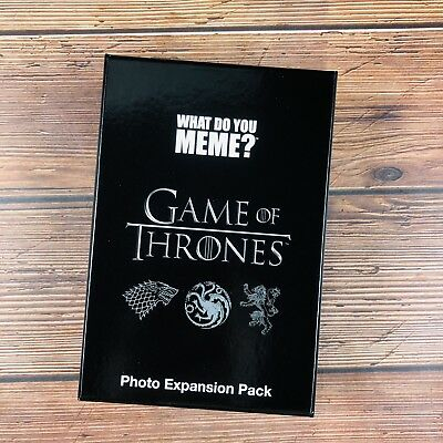 What Do You Meme? Game Of Thrones Cards Extra Memes Adult Party Card Game Xmas
