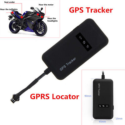 Real time GPS Tracker Motorcycle Auto Tracking Device System Anti-theft Locator