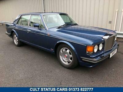 1989 F Bentley Turbo R 6.8 V8, Stunning Cobalt Blue With Cream Leather!