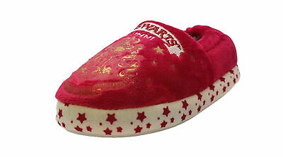 Girls Harry Potter Hogwarts Slippers - With Warm Lining