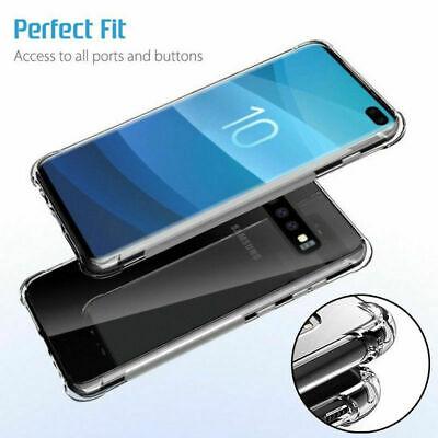 Hybrid Shockproof Soft Clear Case For Samsung Galaxy Note 8 9 S9 A6 Phone Cove