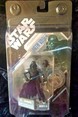 Star Wars 30th Anniversary Ralph McQuarrie Concept Darth Vader With Coin