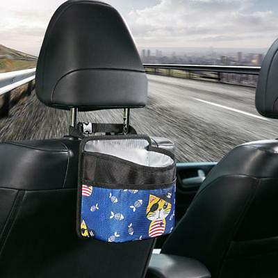 Recyclable Car Truck Mounted Trash Basket Leak-Proof Dustbin Storage Garbage Bag