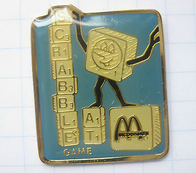 M / SCRABBLE AT / ÖSTERREICH  ..........Mc DONALD`s -Pin (102c)