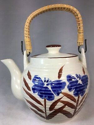 RARE!!!  Vintage Japanese Handpainted Teapot Porcelain Pottery.VERY Beautiful