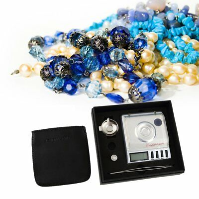 500g x 0.01g Digital Pocket Jewelry Balance LCD Scale / Calibration Weight BA