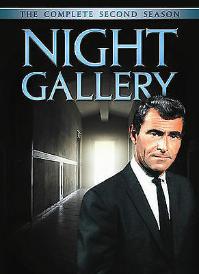 Night Gallery - The Complete Second Season (DVD, 2008, 5-Disc Set) Like New