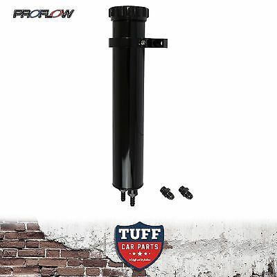 """Proflow 13"""" Black Billet Alloy Radiator Coolant Overflow Recovery Expansion Tank"""