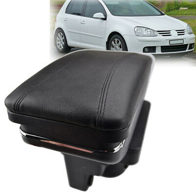Rotatable Storage Box For VW Golf Mk5 03 - 09 Armrest Central 04 05 06 07 08