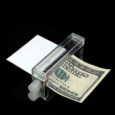 1 Pcs Money Printing Machine Money Maker Easy Magic Trick Toys Magician Props