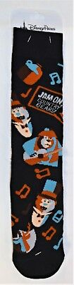Disney Park Exclusive Country Bear Jamboree Jam On Unisex Sock BRAND NEW CUTE