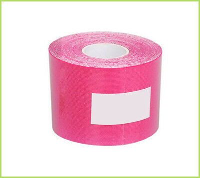 GLF Red 5m x 5cm Kinesiology Therapeutic Elastic Tape Sport Muscles Care 1 Roll