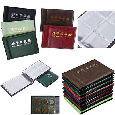 Hot Collecting Penny Money Pockets 60 Holders Collection Storage Coin Album Book