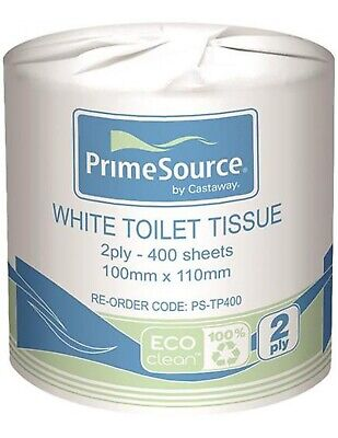 Primesource 2ply Toilet Tissue 400 Packh x 48