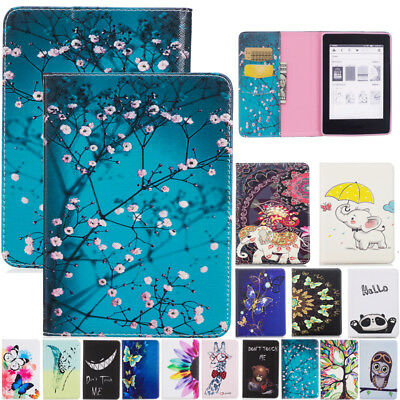 """For All-New Kindle Paperwhite 2018 6"""" 10th Gen Case Smart Painted Leather Cover"""