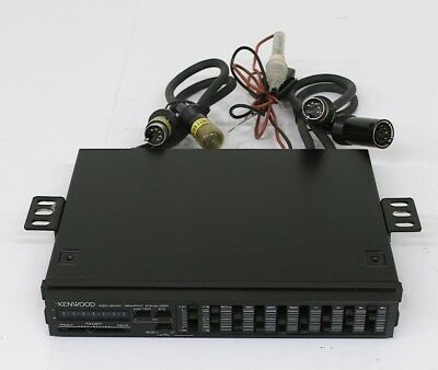 Kenwood KGC-6040 Old School Vintage Car Graphic Equalizer SUB Level ...