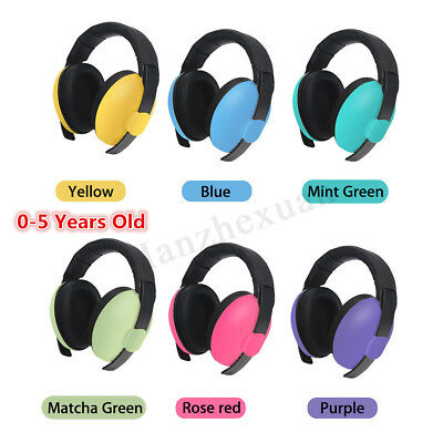 BABY Childs Infant Kids Ear Muffs Defenders Earmuffs Noise Protection Music Show