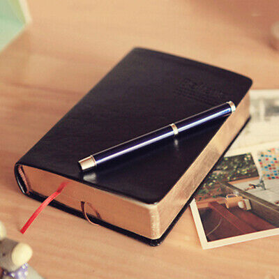 1Pcs Retro Notebook Journal Diary Sketchbook Leather Cover Thick Blank Pages