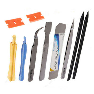 10 in1 Pry Screwdriver Mobile Repair Opening Tools Kit Set For Cell Phone iPhone